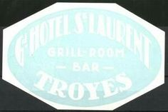 Troyes, Hotel S. Luggage Stickers, Hotel S, Grilling, Bar, Room, Bedroom, Crickets, Rooms, Rum