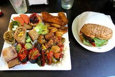 Vegan Feast!! I want all this food