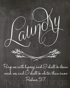 laundry chalkboard with floursih watermarked