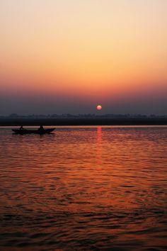 Ganga River Sunrise