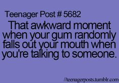 This has actually happened A LOT LOL