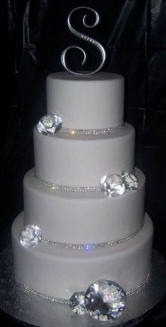 Bling Bling wedding cake | Top Creative Food