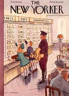 The Automat was fun to go to as long as prices were as cheap as the cover price! Today's gougey rates make coin-op cafeterias impractical. Dad is still nostalgic for the Automat. He's also still nostalgic for 50¢ a gallon gas.