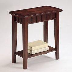 Crown Mark Dentil Chairside Table