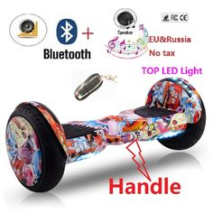 Reborn 10inch Self balancing scooter hoverboard skateboard two wheel smart balance adult electric scooter hover board giroskuter //Price: $267.38//     #electonics