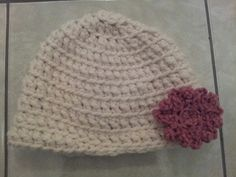 Adult crocheted hat
