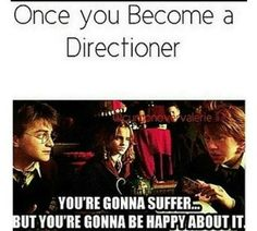 one direction and harry potter