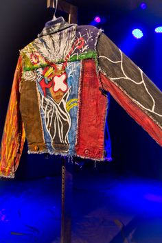 Indian Chief denim jacket. Hand painted clothes by Loverock Designs. One of a kind wearable art. Recycled clothing. on Etsy, $200.00