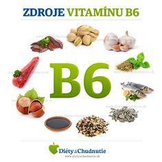 Zdroje vitamínu B6 #Zdravie #ZdravaVyziva