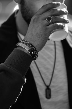 On-the-go style by David Yurman ... casual with a lot of flair! | Jewelry & Style for Men
