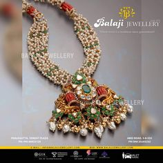 Silver Jewellery Online, Gold Jewellery Design, Emerald Jewelry, India Jewelry, Bead Jewellery, Gold Jewelry, Trendy Jewelry, Simple Jewelry, Pearl Design