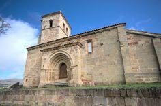 Cantabria Iglesia de Santa María la Real (Las Henestrosas de las Quintanillas)