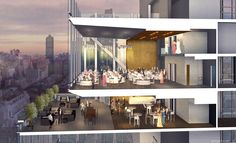 Architectural Rendering of the MSCC Banquet Hall