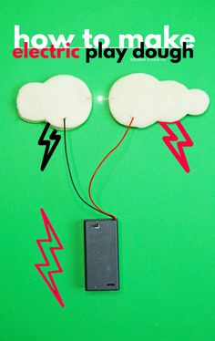 How to Make Electric Play Dough with Kids - Babble Dabble Do