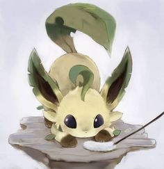 This is so cute ^^ I love Eevee and all of the Eeveelutions <3