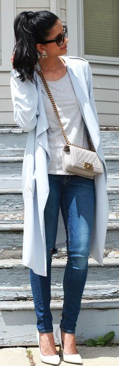 Shades Of Blue Casual Outfit