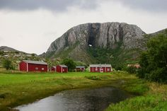 Torghatten mountain in northern Norway. Steinar Skaar