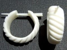 Ohrringe Flesh Tunnel Horn Plug Piercing Schmuck ER083 | eBay aus holz bitte
