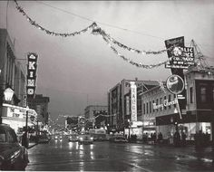 Christmas in Beautiful Downtown Albuquerque Mexico Pictures, Old Pictures, Old Photos, Vintage Photos, Vintage Christmas, Christmas Photos, Christmas Time, Merry Christmas, New Mexico