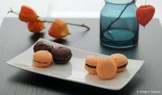 Schnipp & Schlemm: Macarons à chocolat orange