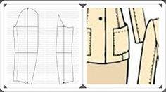 patrones de saco de sastre - YouTube