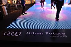 Amazing Interactive Audi Exhibit Uses 2000 LEDs - My Modern Metropolis