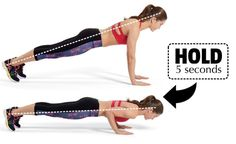 Get Rid Of Back Fat And Bra Bulge - Push Up Hold