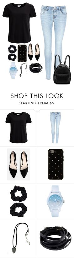 """""""Best chance"""" by the-love-star786 ❤ liked on Polyvore featuring Object Collectors Item, J Brand, MANGO, Kate Spade, Accessorize, Lacoste, Ann Demeulemeester and STELLA McCARTNEY"""