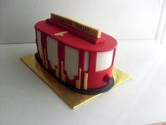 Birthday Cakes Utah ~ Daniel tiger's trolley birthday cake cake art pinterest