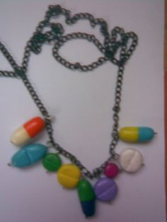 Fimo Pills Necklace