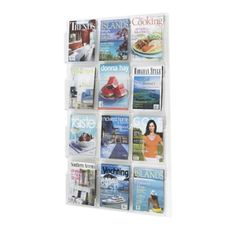 http://www.nationalbusinessfurniture.com/Clear-Plastic-Twelve-Pocket-Magazine-Rack-33134.aspx?afid=pla