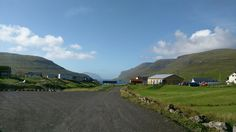 This is the view as you leave the airport in Vagar, in the Faroe Islands. Just a small taster of what's ahead