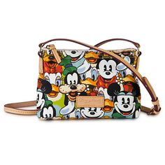 Mickey Mouse and Friends Faces Crossbody Pouchette by Dooney & Bourke --- WANT!