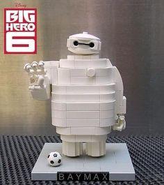 Big Hero 6 Baymax Lego art
