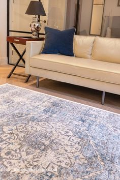 Classic Rugs, Traditional Rugs, Persian Rug, Vintage Looks, Oriental Rug, Blue Rugs, Ivory, Interior, Blue Grey