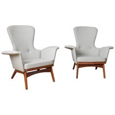 Pair of Vintage Mid-Century Chairs by Adrian Pearsall for Craft Associates c1960's