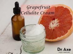 Grapefruit Cellulite Cream http://www.draxe.com #health #Holistic #natural