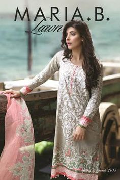 Latest Maria B Lawn Collection 2015 with Prices
