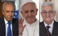 Papa se reúne en privado con presidentes de Israel y Palestina antes de rezar por la paz