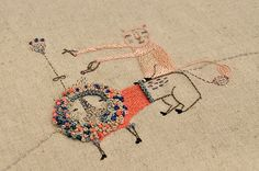 Miga de Pan embroidery