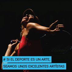 Si el deporte es un arte, seamos unos excelentes artistas http://www.altorendimiento.com/cursos/curso-preparacion-fisica-tenis