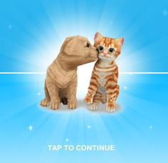 The Sims Freeplay Guide - Earn Money and LP >> Gosh, I wish I had a puppy or kitten this cute! Wouldn't mind if (s)he dug up money for me either :P