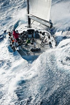 the biggest sailboat is nothing without wind in its sails :: Yacht parts & Watermakers Volvo Ocean Race, Catamaran, Yacht Boat, Sail Away, Set Sail, Tall Ships, Water Crafts, Belle Photo, Sailing Ships