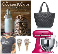 The Cookies & Cups Cookbook Birthday GIveaway