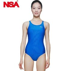 8ddb644180897 NSA swimsuit female triangle swimwear women swimming racing suit  competition swimsuits girls professional swim solid child