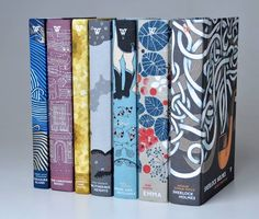 White's Fine Editions - literary classics in decorative bindings.  I'd like to get Treasure Island, Sherlock Holmes and Wuthering Heights in these editions!