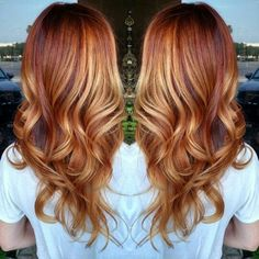 Metallic Copper Hair
