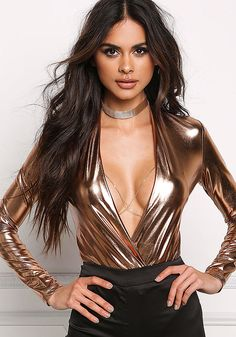 Gold Thin Chain Bralette & Choker Set - Body Chains - Jewelry - Accessories