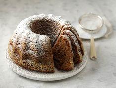 Luumukakku   Valio Christmas Treats, Christmas Baking, Christmas Recipes, Sweet Recipes, Cake Recipes, Cupcakes, Dream Cake, Piece Of Cakes, Cakes And More