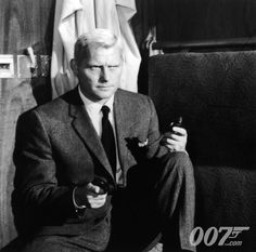 James Bond villain Robert Shaw as Red Grant in From Russia With Love